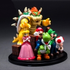 10 см Super Mario Bros ПВХ Фигурку Игрушки, супер Марио Йоши Динозавров Рисунок Игрушки, подарок Игрушки, игрушки Для Детей
