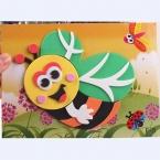 Опотом 20 дизайнов 13*17 см Поделка Умелые Ручки 3D   Пазл Мозайка Ева Стикеры самоклеющиеся ева обучающие игрушки и поделки