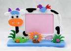 One piece Дети DIY ЕВА Рамка Фото Пены Изготовления Комплектов развивающие игрушки для Детей Би Сова Жираф Динозавров, Слон, Корова черепаха