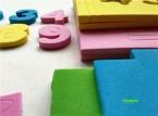 Новые Симпатичные DIY 3D Гриб Номер Модели Головоломка Дом Ремесел Пены EVA Ремесло Детский Сад Развивающие Игрушки Дети 3-6 лет