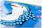 4 шт./лот 21*29 см Большой Eva Мозаика Стикера Искусства Дети Раннего Обучения Обучающие Головоломки Игрушки Детский Сад для Детей 3-6 лет