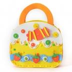 10 Стиль  Продажи дешевых ЕВА пены головоломки DIY Детей Сумки ручной работы ЕВА Вставить игрушки для детей дети детские развивающие игрушки