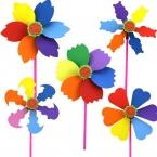 7 стиль Оптовая Ручной Eva Пены Eva Ремесло Комплекты Дети DIY ветряная мельница ветряная мельница Развивающие игрушки для Детей