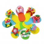 ЕВА Тапочки  Прибытие Дети ПОДЕЛКИ ручной работы Пены Eva Наклейки Ремесло Головоломки Детские развивающие раннего обучения игрушки