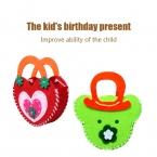 Ребенок начал развивающие игрушки Дети сумка ручной работы нетканые Ткани головоломки DIY ремесел для детей, изучающих и развивающих игрушки