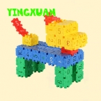 120 шт./упак. Дети цветной Пластик цифровой площади детский сад игрушки детские Строительные Блоки Наборы Наборы для Творчества малыша