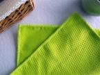 3 ШТ./ЛОТ 30 см х 40 см Безворсовой Уход За Автомобилем Окна Уборка Кухни Полотенце Французский Махровая Ткань Из Микрофибры, Стекло полотенце