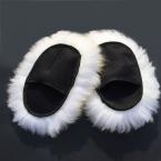 Супер Длинные Волосы Воздухопроницаемость Сетки Лапы Овчины Автомойка Очистки Полировки Перчатки Роскошный Овечьей Шерсти Перчатки