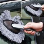 Многофункциональный Автомобилей Duster Очистки Грязь Пыль Чистой Щеткой Удаление Пыли Инструмент Швабра Серый CS178