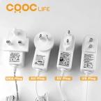 CRDC 200 МЛ 7 Цветов Свет Ультразвуковой Электрический Увлажнитель Воздуха Ароматерапия Эфирное Масло Аромат Диффузор 110 В-240 В для Дома