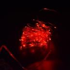 10 М 100 led 3 AA Батарейках Декоративные СВЕТОДИОДНЫЕ Меди провод Фея Огни Строки Теплый Белый на Рождество Свадьба стороны