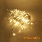 8 Цвета WarmWhite Белый Многоцветный 30 м 300 led 220 В Праздник СВЕТОДИОДНЫЕ Рождественские огни свадьба украшение строка огни
