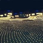 3 м * 2 м 200 СИД Чистая Сетки Фея Свет Шнура Рождество Свадьба партии Фея Строку Света с 8 Function Controller ЕС AU Plug