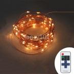 Беспроводной Диммер 66ft 20 м 200 LED Медный Провод Фея Рождество Строка Огни Гарланд С Блоком Питания