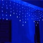 Luminarias 3.5 М 96 LED Сосулька Звезды Строка Занавес Свет Для Свадьбы Рождество Украшения Люстра