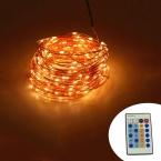ИК-Пульт Дистанционного Управления 30 м 300 LED Открытый Рождество Сказочных Огней Теплый Белый Медный Провод LED Огни Строки Звездное Свет   Адаптер питания