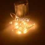 9 Цвета батарейках 2 М 20 ФУТОВ LED Серебряный Свет Шнура сид Водонепроницаемый свет Рождества Для Свадьбы Xmas партия