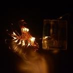 продажа 1 ШТ. 2 М 20 Праздник Огней ИНДИКАТОР Батареи Огни Строки, X'mas Украшения Фея Света С Медным Проводом