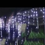 6 м 180LED занавес сосулька огни строки Рождество Сад лампы СВЕТОДИОДНЫЕ Сосулька Фары Рождество Свадьбы Декорации для Вечеринок