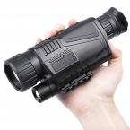 5X40 Инфракрасный Цифровой Ночного Видения Телескоп с Большим Увеличением С Видео Выход Функция Регулируемый Фокус Moncular Охота