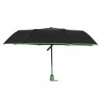 SUSINO Ломкий Ветрозащитный Зонтик Путешествия Компактный Легкий Автоматический Открыть Закрыть Сочетание Цвета Зонтики 16301AC Зеленый
