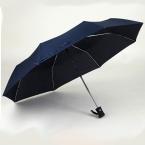 arriveGentles Дамы Полностью автоматическая Алюминиевого Сплава стекловолокна сильный Кадр Три Складной компактный большой дождь зонтик