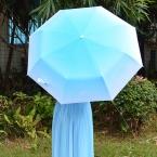 Полностью автоматический зонт градиент цвета зонтик складной солнцезащитный крем вс зонтик анти-уф-защитой женщин автоматический зонт