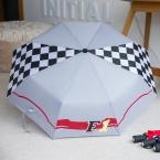 New Прибыть Моды Фиолетовый F1 Мужчины Мужчины Женщины Полностью автоматическая Анти-Уф Три Складной Компактный Ветрозащитный Сильный Бренд зонтик