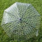 Изысканный загущающие прозрачные зонтик зонтик вообще складной зонтик