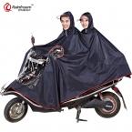 Rainfreem Непроницаемый Плащ Женщин/Мужчин Толщиной Мотоцикл Плащи Пончо Оксфорд Дождь Пальто Женщин Водонепроницаемый От Дождя Пончо