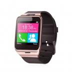 Smartwatch Gv18 Bluetooth Здоровье Mp3 Водонепроницаемый Шагомер Носимых Устройств С Sim-карты Мобильного GSM Android Smart Watch Phone