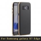 Роскошные Тонкий S7 Край чехол Для Samsung Galaxy S7 Edge Чехол Броня силиконовые задняя крышка   PC Рамка Для samsung s7 edge G9350 случаях