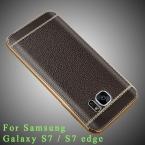 S7 край Дело Оригинальный бренд Класса Люкс Ультра-тонкий силиконовый чехол Для Samsung edge покрытие корпуса ТПУ мягкая обложка Для Samsung s7 s7 случаях