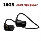 Доставка Спорта mp3-плеер для sony NWZ-W273 Walkman 16 ГБ гарнитура W273 mp3 плеера наушники наушники с логотипом