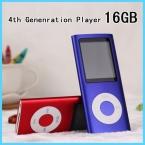 4-го поколения 16 ГБ 1.8 дюймов Жк-Экран Mp3-плеер Поставляется с 16 Г Памяти И Диктофон/Fm-радио Функция Music Media плеер