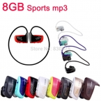 Высокое качество 8 ГБ Спорт mp3-плеер W262 Гарнитура MP3 наушники для sony walkman mp3-плеер бесплатная