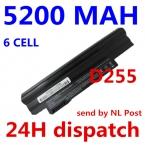 5200 мАч аккумулятор для НОУТБУКА Acer Aspire One 522 D255 722 AOD260 AOD255 D255E D257 D257E D260 D270 E100 AL10A31 AL10B31 AL10G31