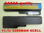 5200 МАч аккумулятор Для Ноутбука Lenovo 3000 Для IdeaPad G430 G450 G530 G550 N500 Z360 B460 B550 V460 V450 G455 G555 Y430 l08s6y02