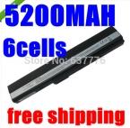 5200 МАЧ 6 ячеек Аккумулятор Для Ноутбука Asus A52 A52F A52J K42 K42F K52F К52 K52J K52JC K52JE А31-К52 А32-К52 A41-K52 A42-K52