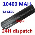 10400 МАЧ 6 ЯЧЕЕК Батареи Ноутбука Для HP COMPAQ CQ62 CQ72 CQ42 CQ43 CQ56 CQ57 CQ58 Q32 HSTNN-DB0W HSTNN-IB0W HSTNN-LB0W HSTNN-LB0Y