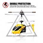 100 percent  Oroginal SYMA W5 3CH крытый малых RC электрический алюминиевый сплав беспилотный вертолет небьющиеся для мальчиков игрушки приколы