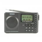 Degen DE1129 Радио DSP FM MW SW 4 ГБ MP3 3 Радиодиапазоне Портативный Интеллектуальные Многофункциональный СВЕТОДИОДНЫЙ Стерео Радио Приемник A0909A