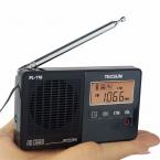Tecsun PL-118 Радио Мини DSP ЭТМ FM Стерео Приемник Будильник Таймер Сна Портативного Записывающего Устройства с Радио Y4142A