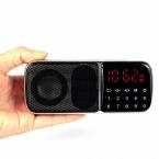 Mega Bass Fm-радио Приемник с Mp3-плеер Мультимедиа Ас с 18650 Радио FM Y4176C