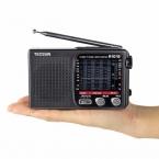 Tecsun R-1012 Радио FM/MW/S/TV Всемирный Оркестр Приемник 76-108 МГц Портативный Fm-радио рекордер Черный Y4378A
