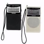 Tecsun Радио R-218 FM/AM Черный/Белый 2 Группа Телевизионного Приемника 76-108 МГц Портативного Записывающего Устройства с Радио 2 Цветов Y4155