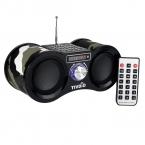 Стерео FM Радио Камуфляж USB/TF Card Спикер MP3 Music Плеер с Пультом Дистанционного Управления Fm-радио Приемник F9203M