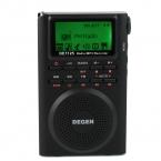 Degen DE1125 Радио Цифровой Fm-радио Диктофон FM Стерео МВТ SW AM MP3 Электронная Книга 4 ГБ D2976A