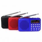 Карманный Цифровой FM Радио REC Рекордер Mp3-плеер Мультимедиа Ас с Фонарик Радио FM Y4370