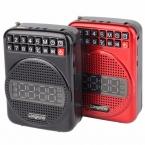Портативный Fm-радио 20 Вт Громкоговоритель с Микрофоном Усилитель Голоса Booster Будильник FM Радио Y4182